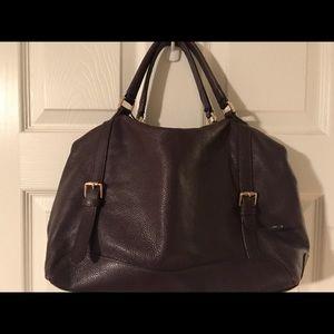 Ora Delphine Plum Handbag
